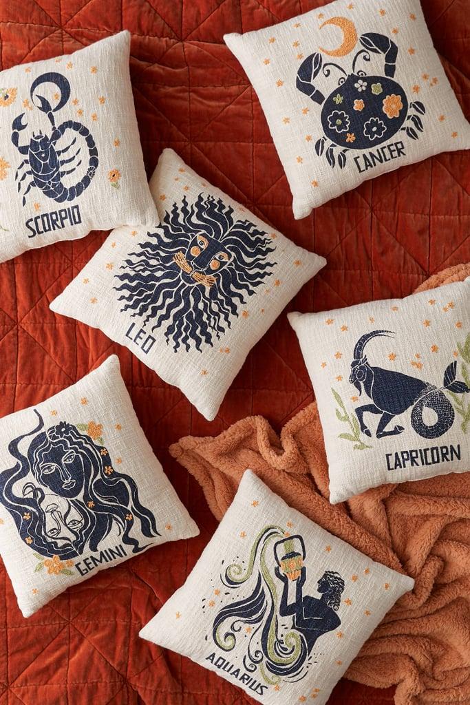 Zodiac Throw Pillow