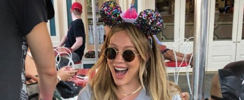 Hilary Duff Spends Birthday at Disneyland 2018