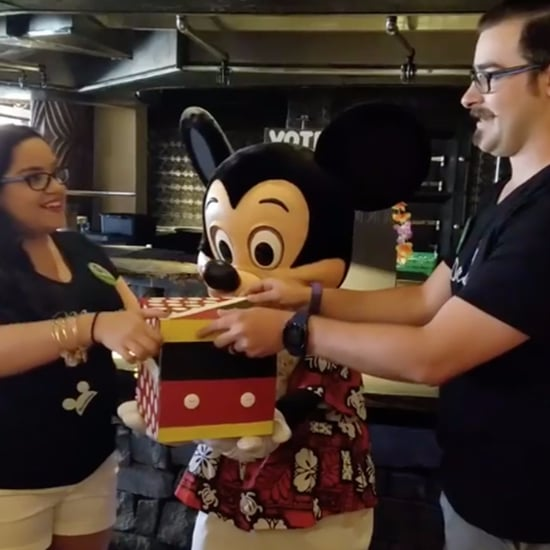 Disney World Gender Reveal and Proposal