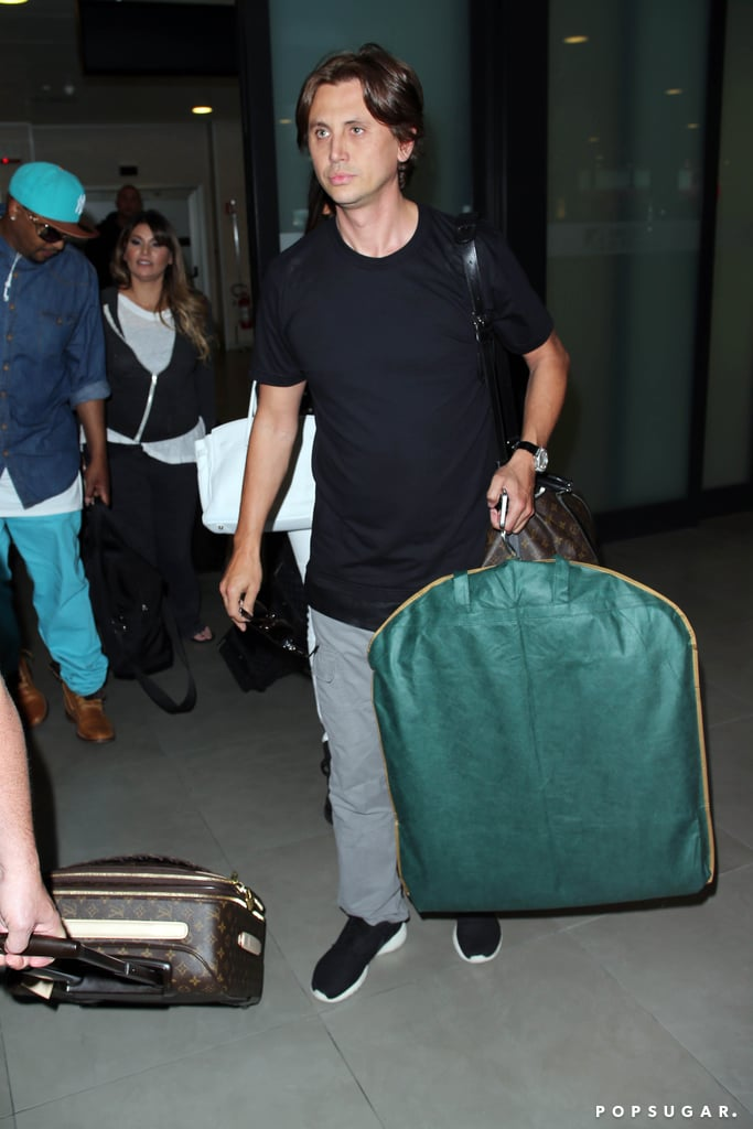 Jonathan Cheban arrived in Florence.