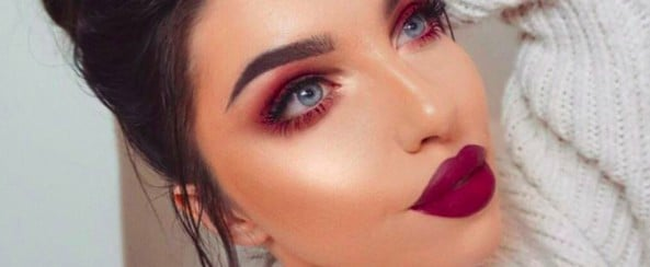 "This Fiery Makeup Trend Gives a Whole New Meaning to the Term ""Red Eye"""