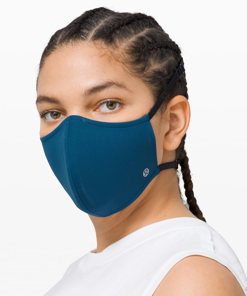 Take a Closer Look at the Lululemon Double Strap Face Mask