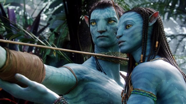 Neytiri and Jake From Avatar