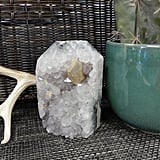 Etsy Amethyst Large Point With Calcite Cluster Polished