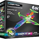 Laser Pegs 6-in-1 Plane Light-Up Construction Set