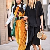 If You Have a Jumpsuit, Wear It With a Ruffle Top