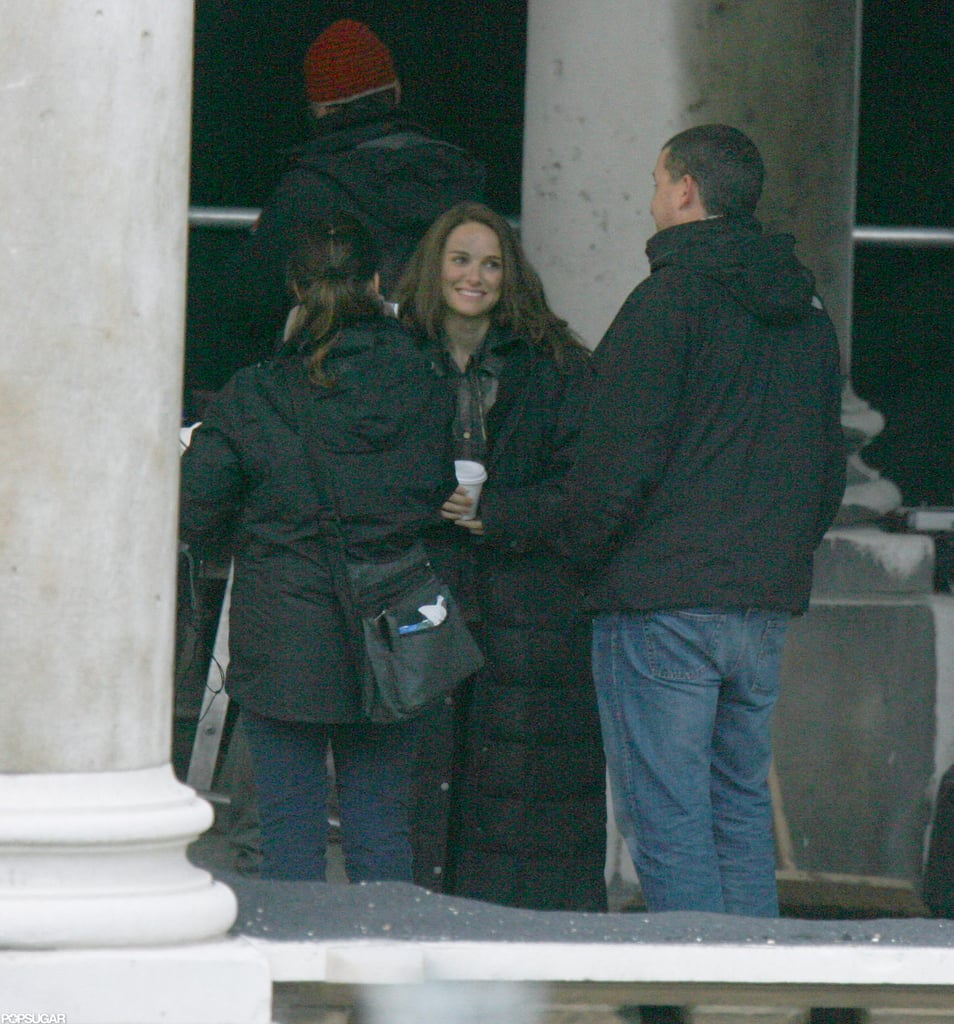 Natalie Portman took a break from filming Thor: The Dark World in London.