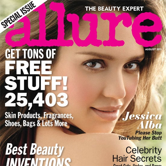 Jessica Alba Talks About Her Post-Baby Body Expectations