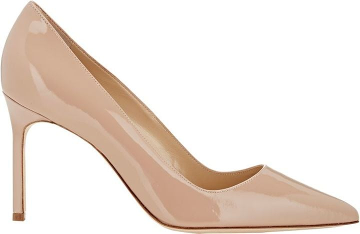 Manolo Blahnik Patent BB Pumps ($595)