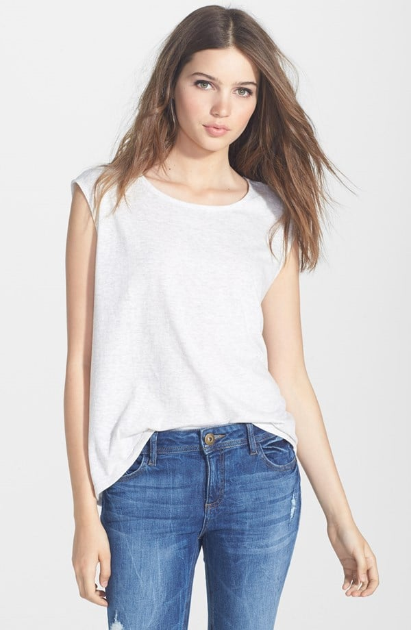 Paige Denim Gracelyn Muscle Tee