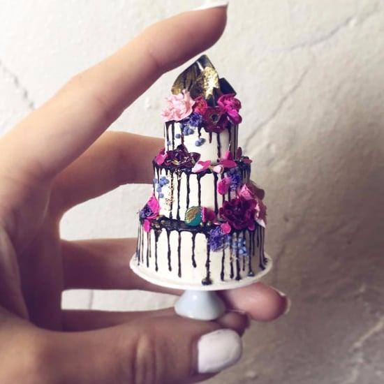 نماذج مصغّرة عن كعكة الزفاف