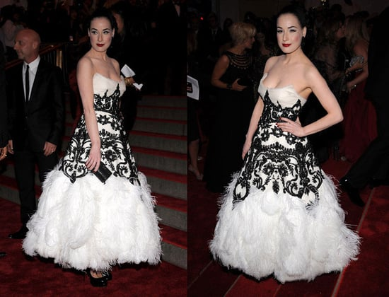 The Met's Costume Institute Gala: Dita Von Teese