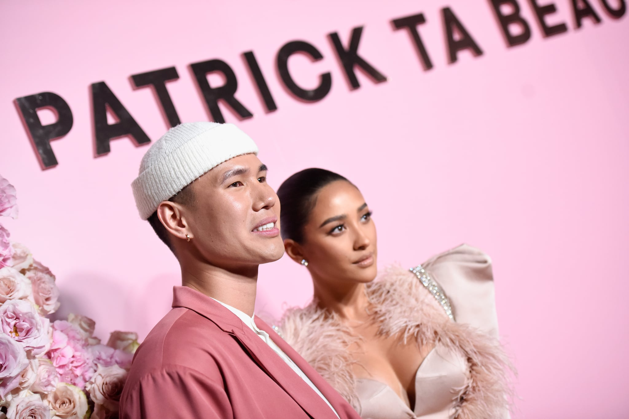 LOS ANGELES, CA - APRIL 04:  Patrick Ta (L) and Shay Mitchell attends Patrick Ta Beauty Launch on April 4, 2019 in Los Angeles, California.  (Photo by Vivien Killilea/Getty Images for Patrick Ta Beauty)