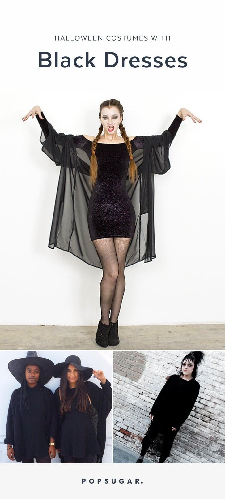 Black Dress Halloween Costumes | POPSUGAR Smart Living