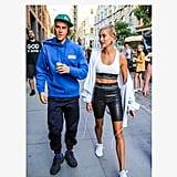 Hailey Baldwin and Justin Bieber Couple Style