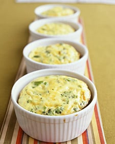 Easy Individual Crustless Quiche Recipe