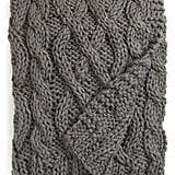 Nordstrom Hand-Knit Cable Throw