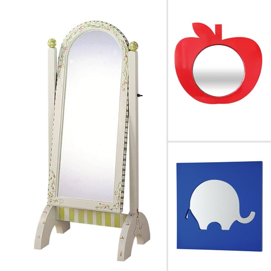 8 Cute Mirrors That Look as Cute as the Tot They Reflect