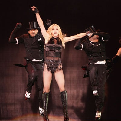 Madonna Opens Her Tour