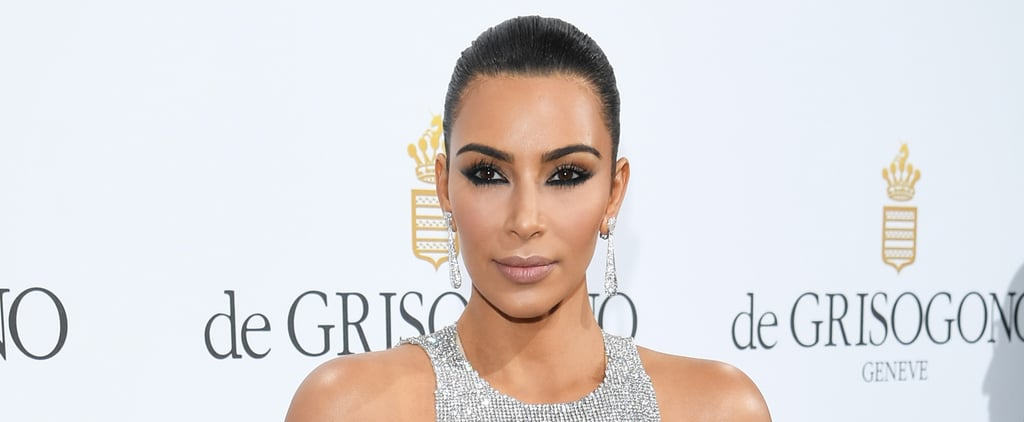 Warning: Kim Kardashian's Cannes Appearance May Cause Temporary Vision Loss