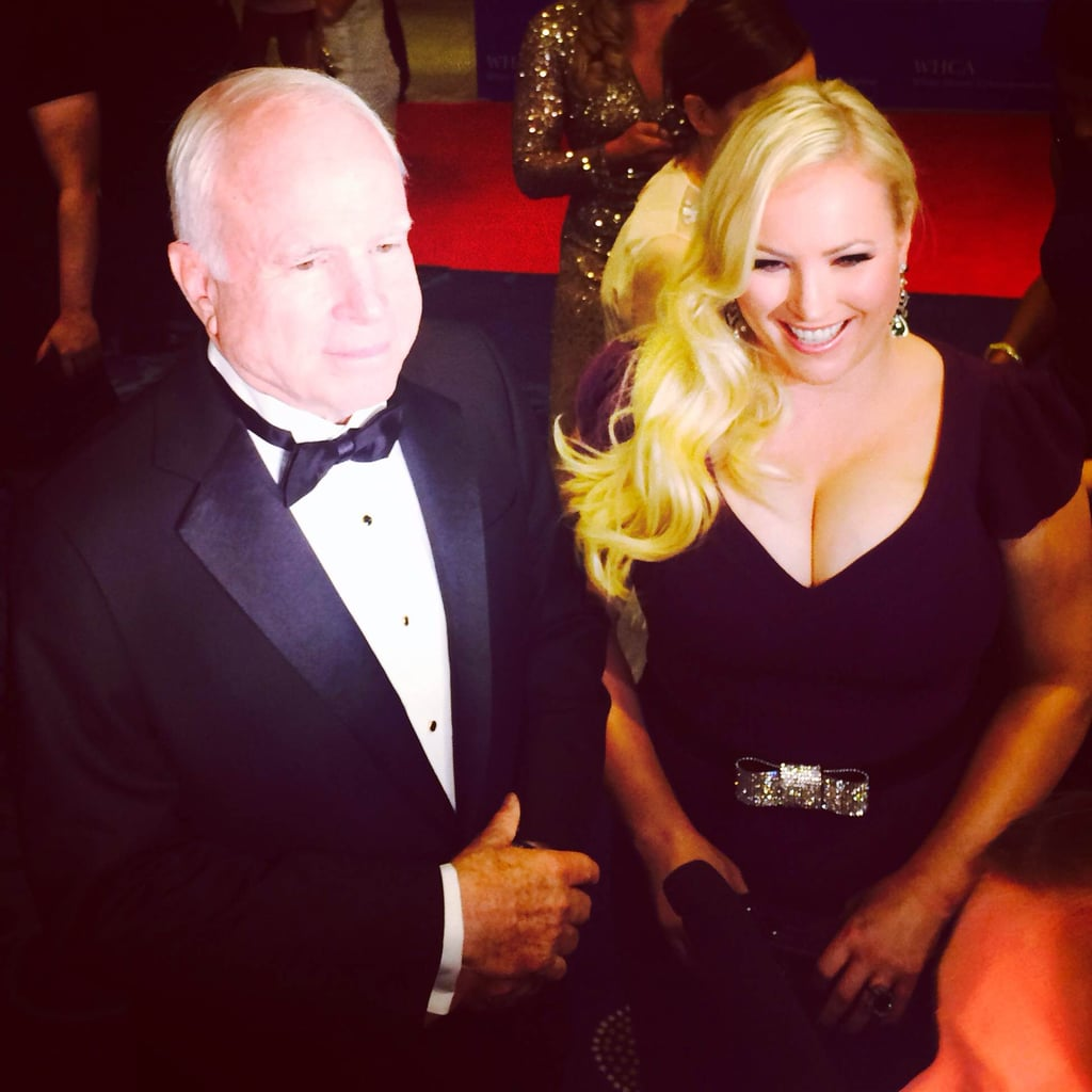 Sen. John McCain and Meghan McCain made it a father-daughter affair.