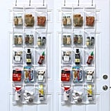 SimpleHouseware Crystal Clear Over The Door Hanging Pantry Organisers