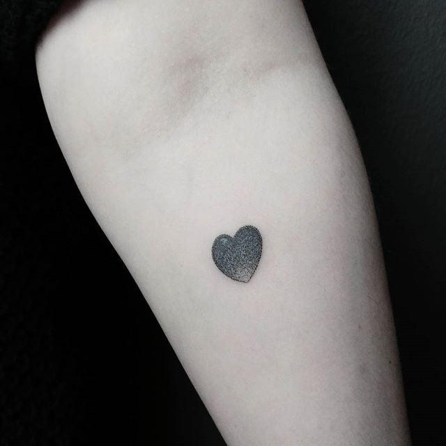 Tiny Heart Tattoos Popsugar Beauty