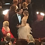 Bradley Cooper and Suki Waterhouse shared an adorable moment, and we were there to catch it.