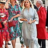 Princess Eugenie Wedding Guest Style 2018