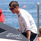Pictures of Josh Hartnett in Italy