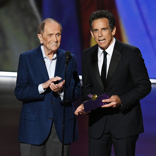 Bob Newhart Jokes With Ben Stiller at the Emmys