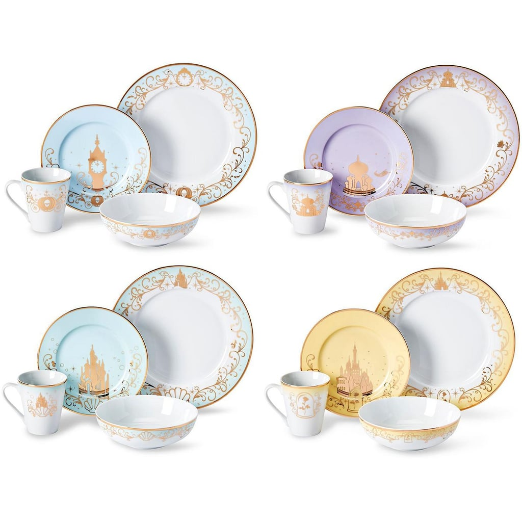 Target Is Selling a Disney Princess 16-Piece Dinnerware Set