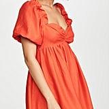 English Factory Balloon Sleeve Dress