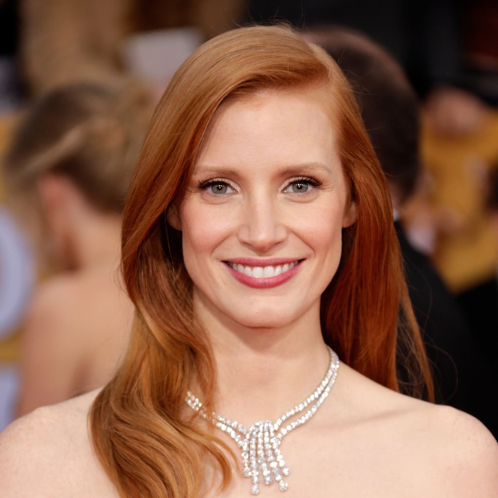 Jessica Chastain: SAG Awards Hair 2013