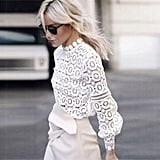 Muyaoo Lace Blouse