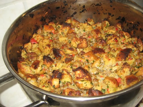 My Dad's Famous Stuffing