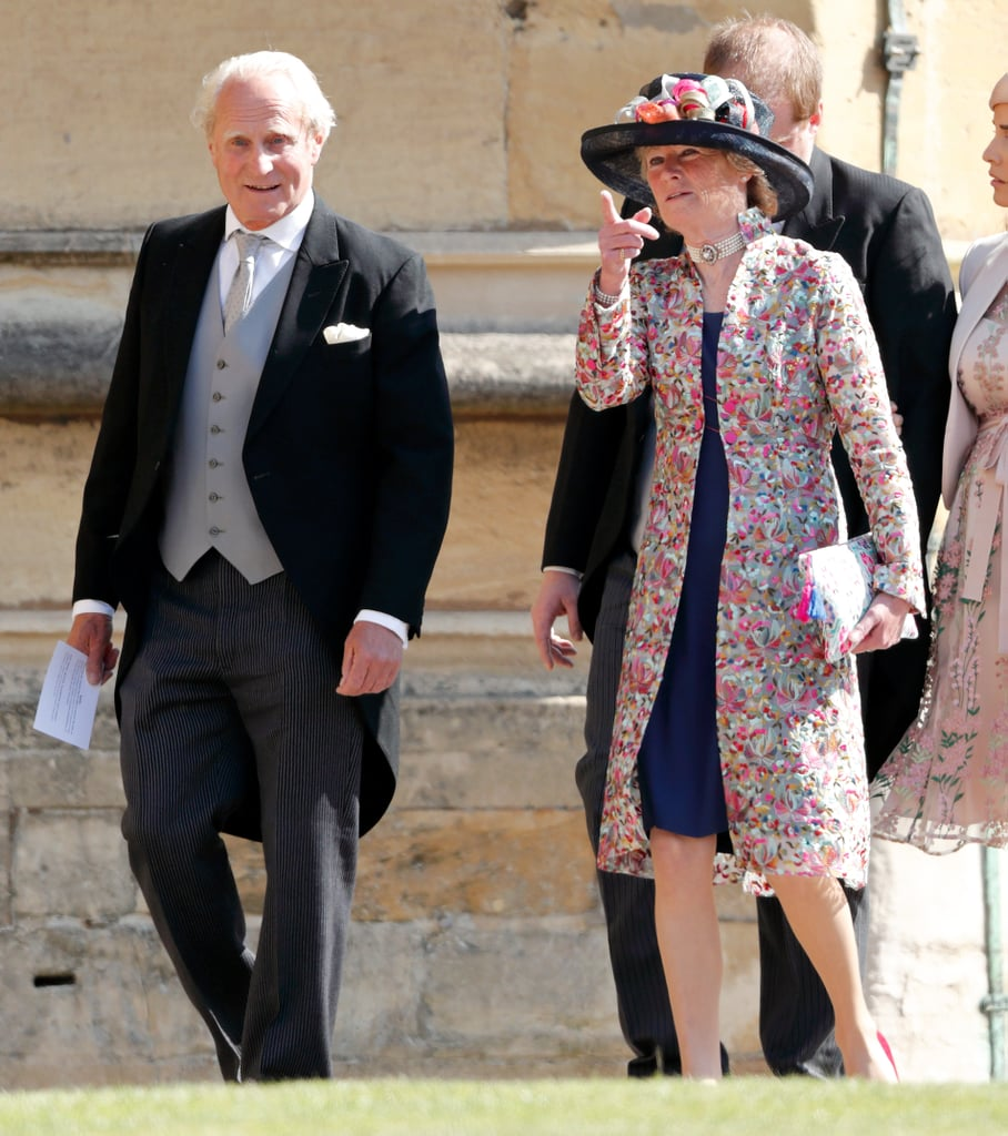 """In 1980, Lady Sarah married Neil Edmund McCorquodale. Since McCorquodale does not have a title of his own, she took his last name but retained her own honorific of """"Lady."""" They have three children: two daughters, Emily and Celia, and a son, George. Celia wore the famous Spencer tiara on her wedding day in 2018, a month after her cousin Prince Harry's wedding."""