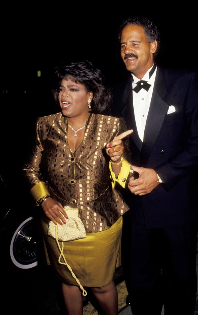 She had Stedman on her pointing arm for the 1992 Emmys.