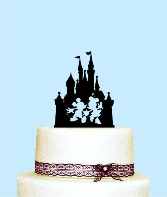 Disney Castle Cake Topper 10