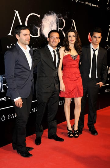Rachel Weisz attends the premiere of Agora in Madrid