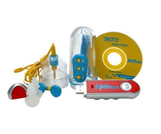 512MB Waterproof MP3 Player