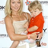 In July 2005, Kelly and Joaquin made an adorable pair at cancer charity event in NYC.