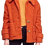 Don't think teddy coats ($25 and up) are going anywhere anytime soon. It seems like they just keep getting cuter each time a new iteration of the cozy style rolls out.