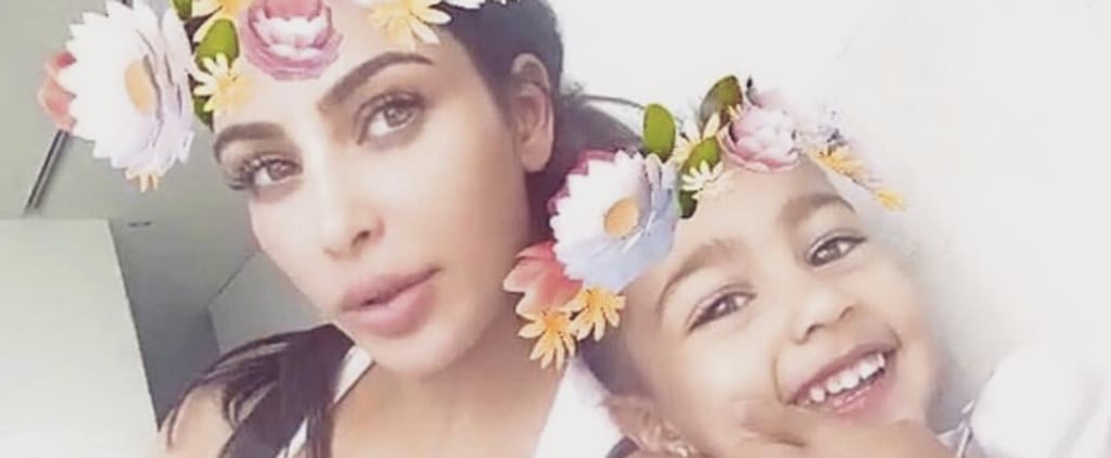 Snapcaht Pictures of North West
