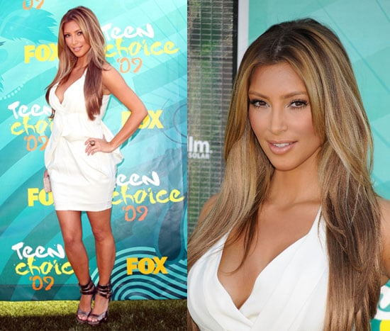 Photos of Kim Kardashian at the 2009 Teen Choice Awards