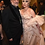 Pictured: Joe Germanotta and Lady Gaga
