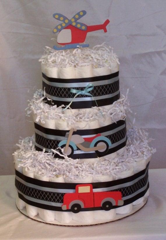 Go Baby Diaper Cake