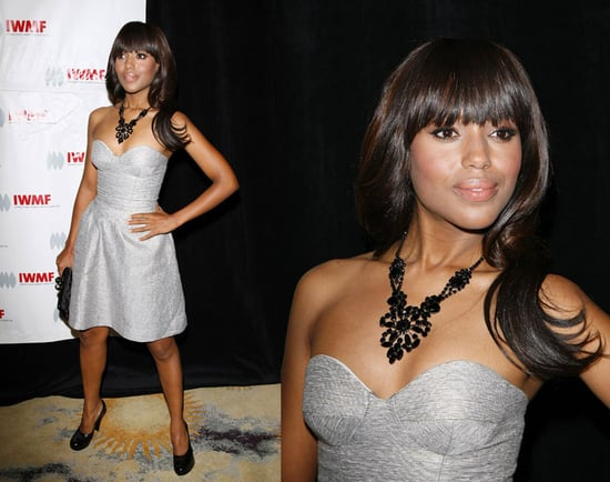 Kerry Washington Attends The International Women's Media Foundation's Courage In Journalism Awards