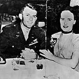 "Elizabeth Short, aka the ""Black Dahlia"""
