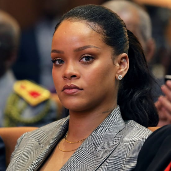 Rihanna Responds to Snapchat Ad With Chris Brown